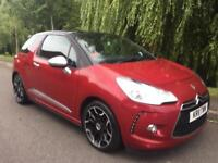CITROEN DS3 D SPORT HDI 110 LOW MILEAGE FULL MOT IMMACULATE FIRST TO SEE WILL BUY