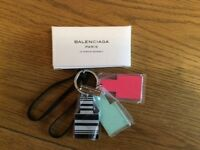 DESIGNER KEYRING BRAND NEW IN BOX BALENCIAGA PARIS