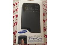 Samsung Galaxy S4. S-View official cover. New.
