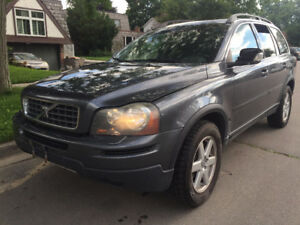 2007 Volvo XC90 With safety Certificate.