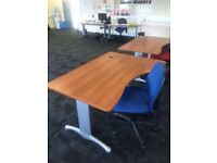 Motherwell 14 high quality office desks and chairs