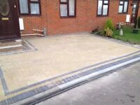 Midland Driveways. Paving & Landscaping. Fencing flagging
