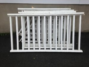 "Wood Railing 36"" tall"