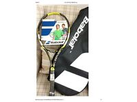 New & unused Babolat graphite tennis racket (unwanted gift)