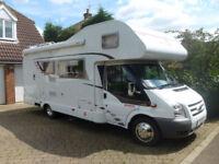 Dethleffs Sunlight A69 Coachbuilt 6 Berth motorhome, Satellite Dish, Tow Bar
