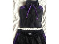 Immaculate Adidas Tracksuit size 10 immaculate
