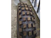 Trial Tyres pair, used Maxxis TrialMaxx