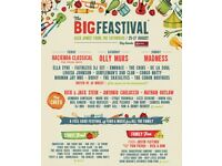 £200 for 2 X The Big Feastival Weekend Tickets (With Camping)