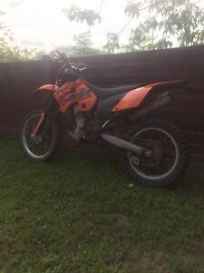 moto cross KMT 400 exc