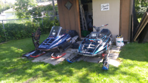 Parting out lots of polaris sleds