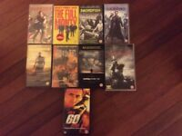 Collection of VHS videos all rated 15