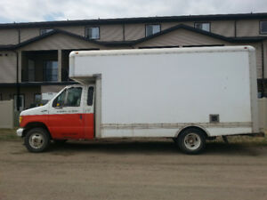 1998 Ford E-350 Cube Truck