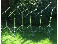 Drums - Various Cymbal and Boom Stands - Good Quality - Ludwig Mapex Pearl Tama etc