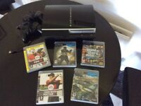 PS3 - 40GB Memory + 5 great games