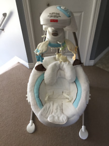 Fisher Price My Little Lamb Cradle & Swing