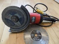 "9"" disc grinder, make site"