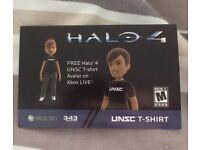 Halo 4 Avatar T-shirt.