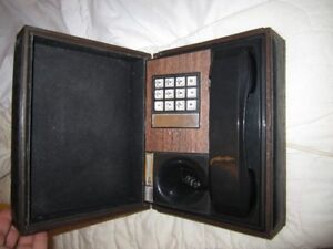 50's 60's phone in a box