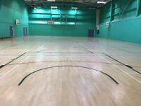 Sports halls available to hire across Nottingham