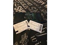Harry Potter world tickets x2