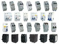 MCB - Circuit Breakers - mixed names , all working