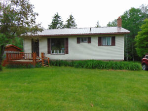 BUNGALOW IN WHITE RAPIDS!!