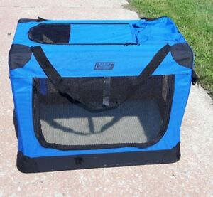 Dog Crate - soft folding crate for camping or everyday use