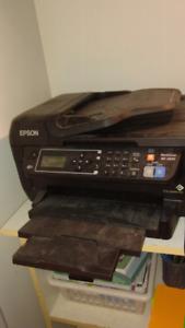 Epson Colour WF-2650 Scan, Print Copy