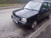 2000 NISSAN MICRA 1.0..AUTOMATIC..MOT AND TAXED...