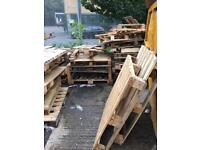 Broken pallets / scrap wood