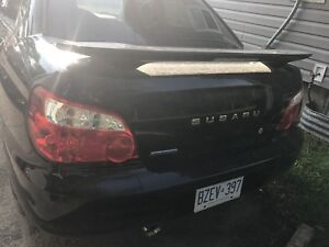 2005 Subaru 2.5RS Impreza for fix or parts. Selling as is