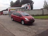 24/7 Trade sales NI Trade Prices for the public 2005 Citroen Xsara Picasso 1.6 LX Full mot