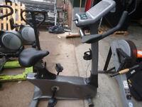 Upright Indoor Excercise Bike Vision Fitness E3200 HRT