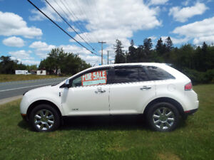 2009 Lincoln MKX ultimate package