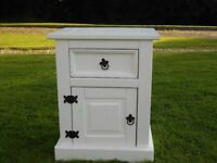 Lovely White Locker With Drawers
