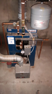 oil hotwater and heater furnace