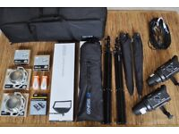 Bowens Gemini 200 Studio Umbrella Kit + Softboxes + Wireless Trigger
