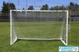 SharpShooter 4×8, 4×6, 4x4 Metal Heavy Duty Soccer Nets Goals