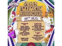 E-tkt for Elrow Closing party London 20th Aug £45