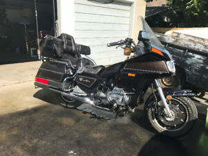 1984 Honda Goldwing Cruising Motorcycle