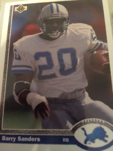 1991 UpperDeck NFL Football Cards.