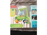 Fisher price rainforest grow with me projection mobile