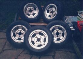 Wolfrace 14inch Classic Alloys Wheels