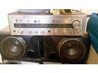 Amp & 4 speakers