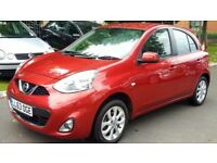 Nissan Micra 1.2 ACENTA (red) 2014