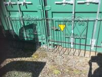 SET OF WROUGHT IRON GARDEN/DRIVE GATES - CAN DELIVER
