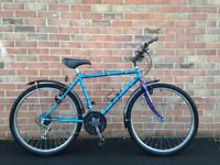 Raleigh bike in good condition for sale two new tires
