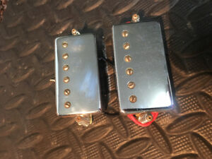 Epiphone '57 Alnico Matched Humbuckers With Wiring !