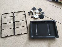 CDA parts for gas hob and grill tray for built under double oven.