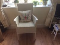 Heritage Lloyd loom arm chair £49
